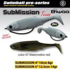 Shad Biwaa Submission 13cm, culoare Watermelon Red