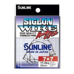 Strune Sunline Siglon S-Wire 7x7 11.3kg/20cm