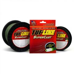 Fir textil Tuf Line SuperCast Green 50lb/125yds US