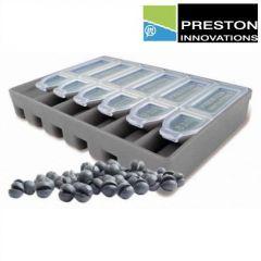 Set plumbi Preston Super Soft Shot Micro Dispenser