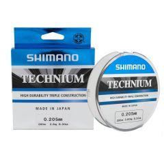 Fir monofilament Shimano Technium 0.20mm/3.8kg/200m