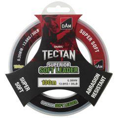 Fir monofilament DAM Tectan Superior Soft Leader 0.35mm/13.6kg/100m