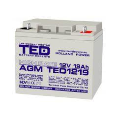 Acumulator etans GS Ted 12V/19A