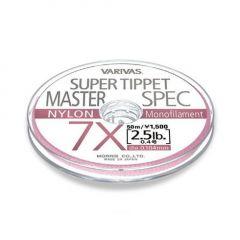 Fly Leader Varivas Super Tippet Master Spec Nylon  50m 5X