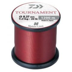 Fir monofilament Daiwa Tournament Red 0.23mm/4.5kg/1200m
