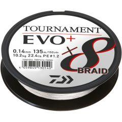 Fir textil Daiwa Tournament 8X Braid EVO+ White 0.16mm/12.2kg/270m