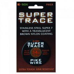 Fir metalic Drennan E-SOX Super Trace 15m, 24lb