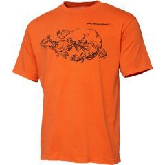 Tricou Savage Gear Cannibal Ink Orange, marime XL
