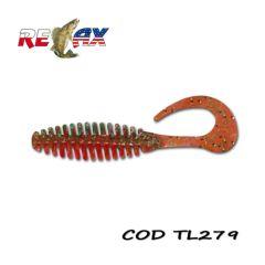 Grub Relax Twister TRT5 Laminat 11cm, culoare 056 - 10buc/plic