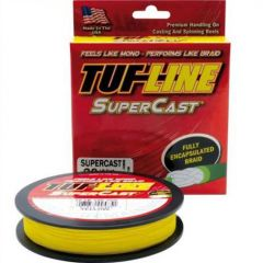 Fir textil Tuf Line SuperCast Yellow 12lb/125yds US