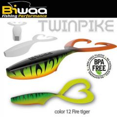 Shad Biwaa Twinpike 15cm/24g, culoare Fire Tiger
