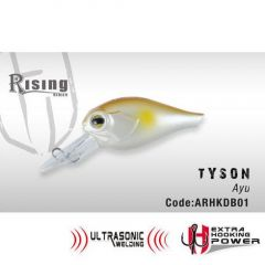 Vobler Colmic Herakles Tyson F 4.0cm, culoare Ayu