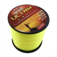 Fir monofilament Asso Ultra Cast Fluo Yellow 0.39mm/18.5kg/1000m