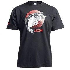 Tricou Jaxon Fish Negru, marime XXL