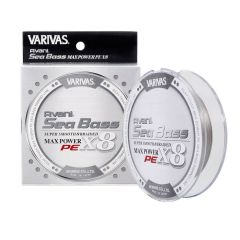 Fir Textil Varivas Avani Sea Bass Max Power PE X8 Stealth Gray 0.14mm/16.7lb/150m