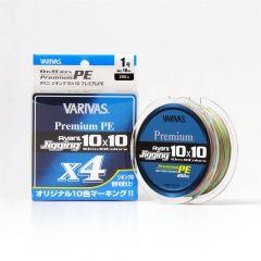 Fir textil Varivas Avani Jigging 10x10 Premium PE X4 15lb/200m