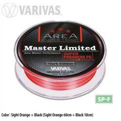 Fir textil Varivas Trout Area Master Limited PE Sight Orange 6.5lb/75m