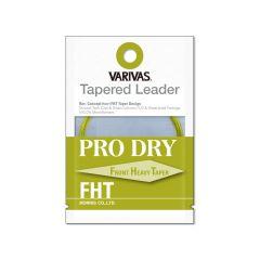 Fly Leader Varivas Tapered Leader Pro Dry FHT Nylon 3X 11ft