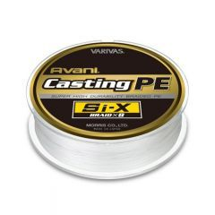 Fir textil Varivas Avani Casting PE Si-X 0.57mm/160lb/300m