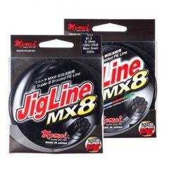 Fir textil Momoi JigLine MX8 Yellow Fluo 0,20mm/13kg/125m