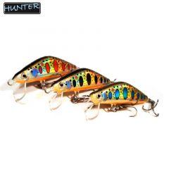 Vobler Hunter Ronin Pro 5cm, culoare Bleu Dot