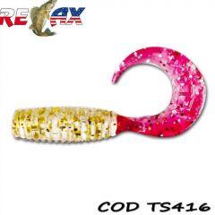 Grub Relax Twister VR1 4cm, culoare 416 - 25 buc/plic