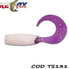 Grub Relax Twister VR2 4.5cm, culoare 131 - 25 buc/plic