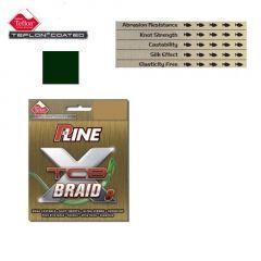 Fir textil P-Line X TCB-8 Teflon Moss Green 0,30mm/22,5kg/135m