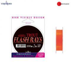 Fir monofilament Yamatoyo Famell Trout Flash Rays 0.148mm/3lb/100m