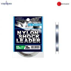 Fir monofilament Yamatoyo Nylon Shock Leader 0.285mm/12lb/20m