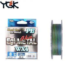 Fir textil YGK RS G-Soul Egi Metal WX4 nr 0.8/120m