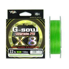 Fir textil YGK RS G-Soul X8 Upgrade 0.185mm/25lb/150m