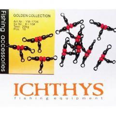 Varteje Ichthys T cu margea Nr.8-10/20kg