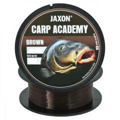 Fir monofilament Jaxon Carp Academy Brown 0.27mm/15kg/600m