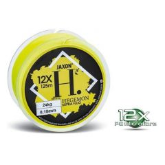 Fir textil Jaxon Hegemon 12X Supra Fluo 0.16mm/20kg/125m