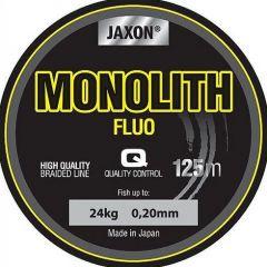 Fir textil Jaxon Monolith Fluo 0.16mm/17kg/125m