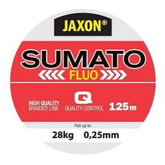 Fir textil Jaxon Sumato Fluo 0.25mm/125m