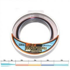 Fir monofilament Jaxon Satori Surf cu inaintas conic 0,30-0,50mm 220 m