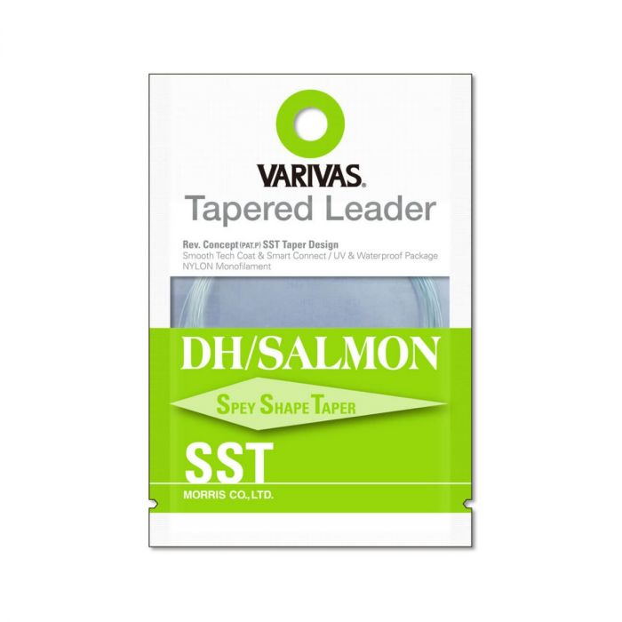 Fly Leader Varivas Tapered Leader DH Salmon SST 3X 18ft