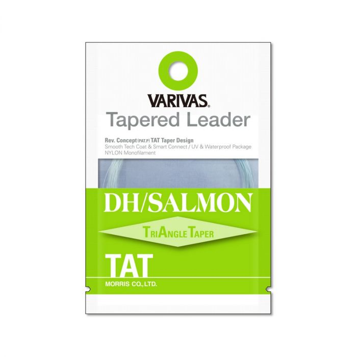Fly Leader Varivas Tapered Leader DH Salmon TAT 1X 18ft