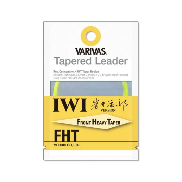 Fly Leader Varivas Tapered Leader IWI FHT 7X 16ft
